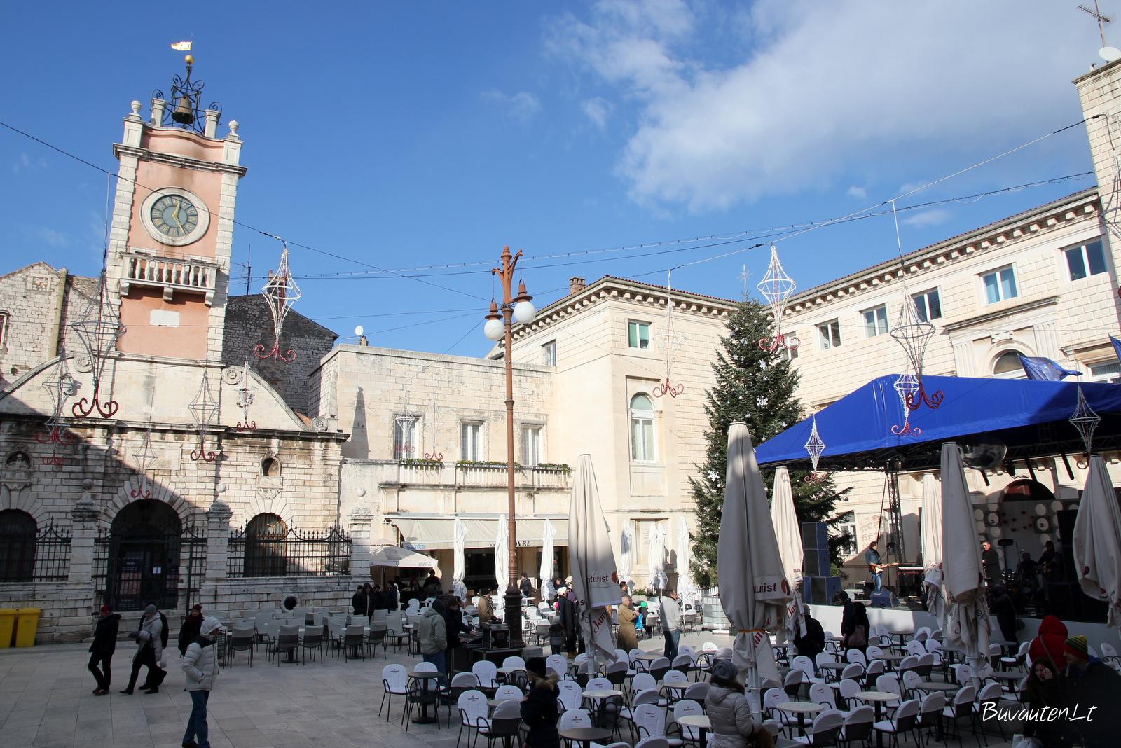 Žmonių aikštė Zadare