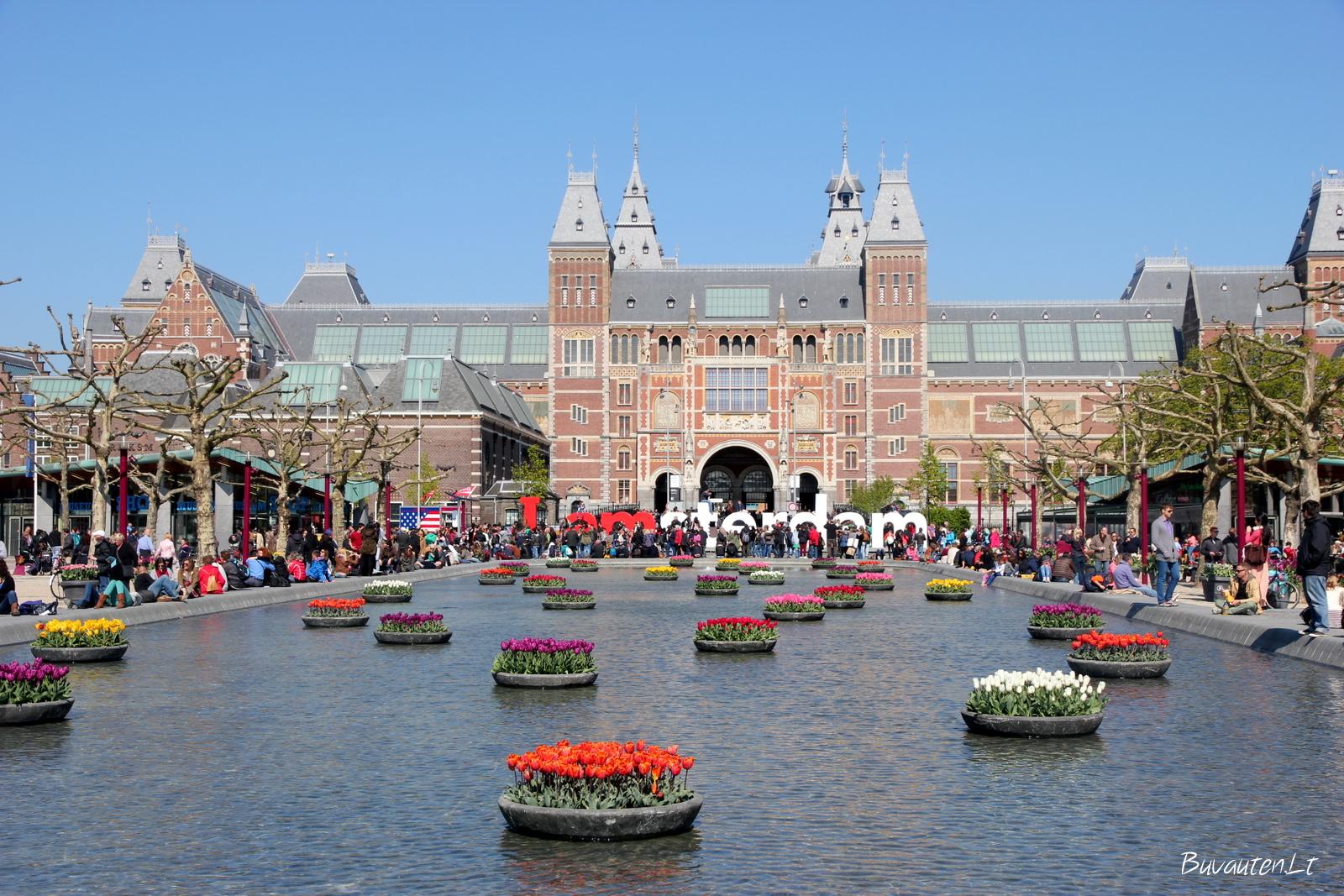 Rijksmuseum - žymiausias Amsterdamo muziejus