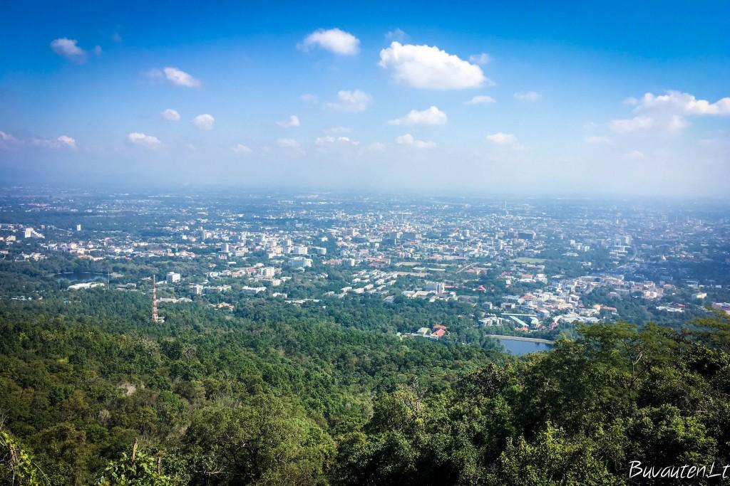 Chiang Mai iš viršaus