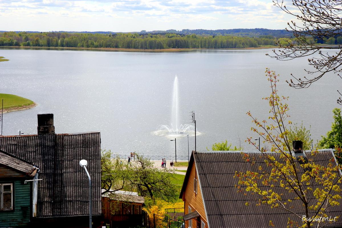 Masčio ežero fontanas