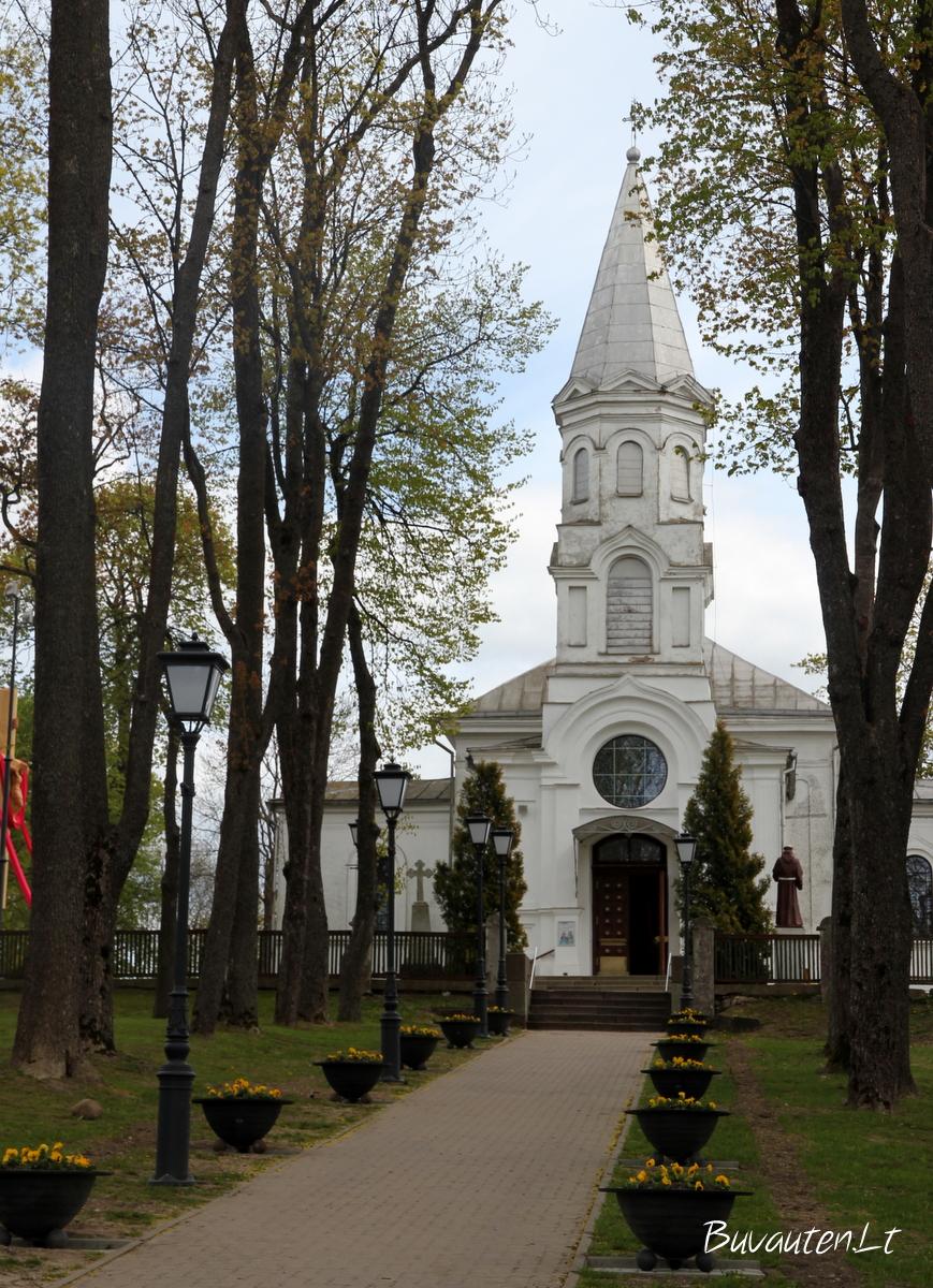 Telšių mažoji bažnyčia – bent jau taip girdim ją vadinant vietinius