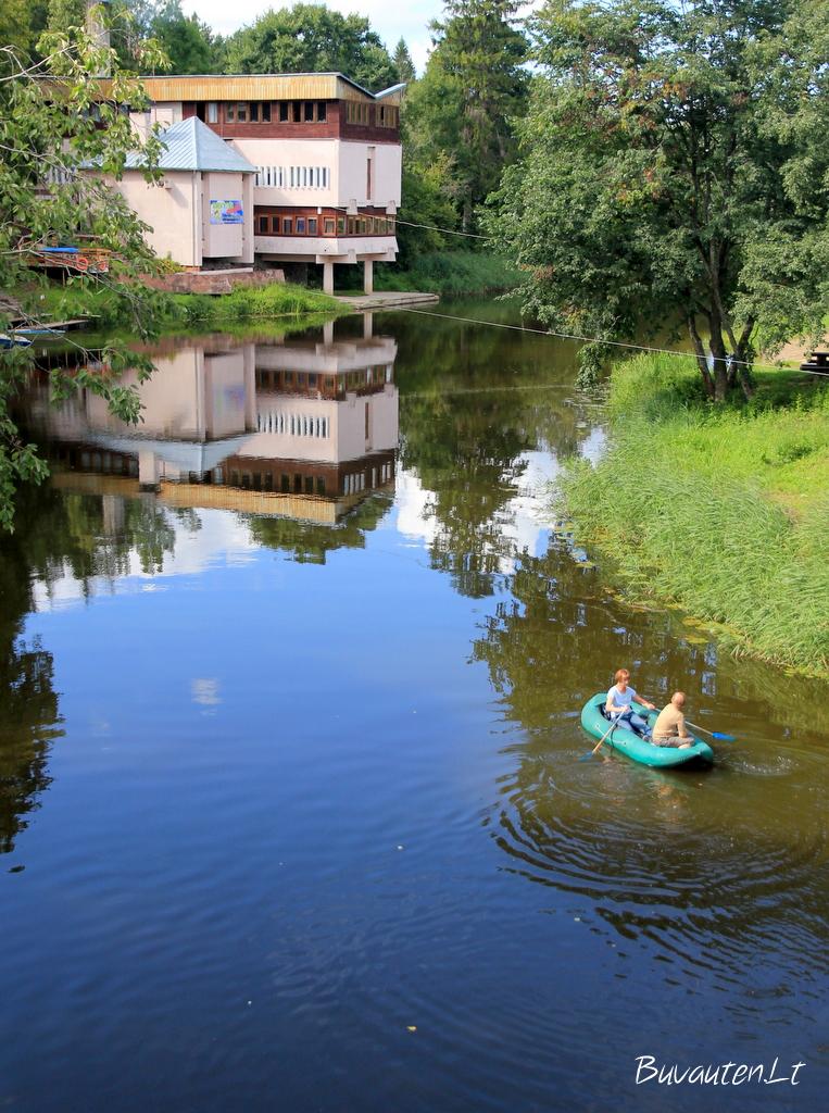 Virvytės upė šalia Santeklių poilsiavietės