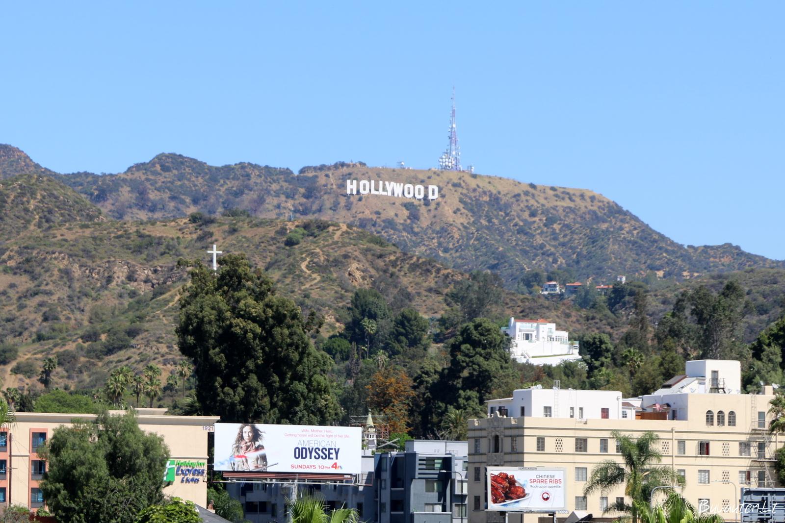 Holivudo ženklas – 14 m aukščio ir 110 m ilgio