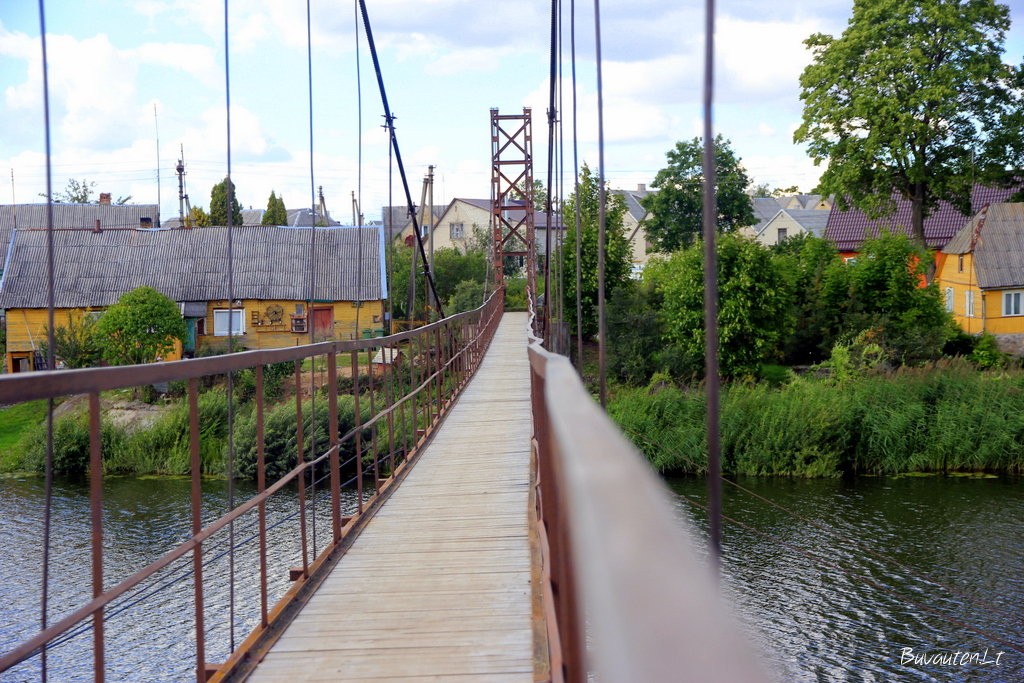 Bezdžionių tiltas Viekšniuose