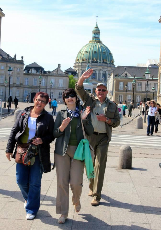 Tėveliai Kopenhagoje