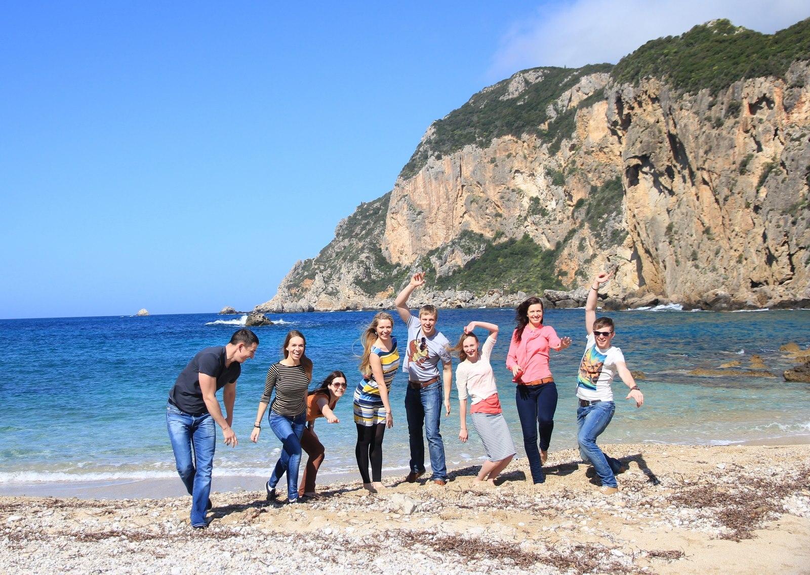 Korfu saloje