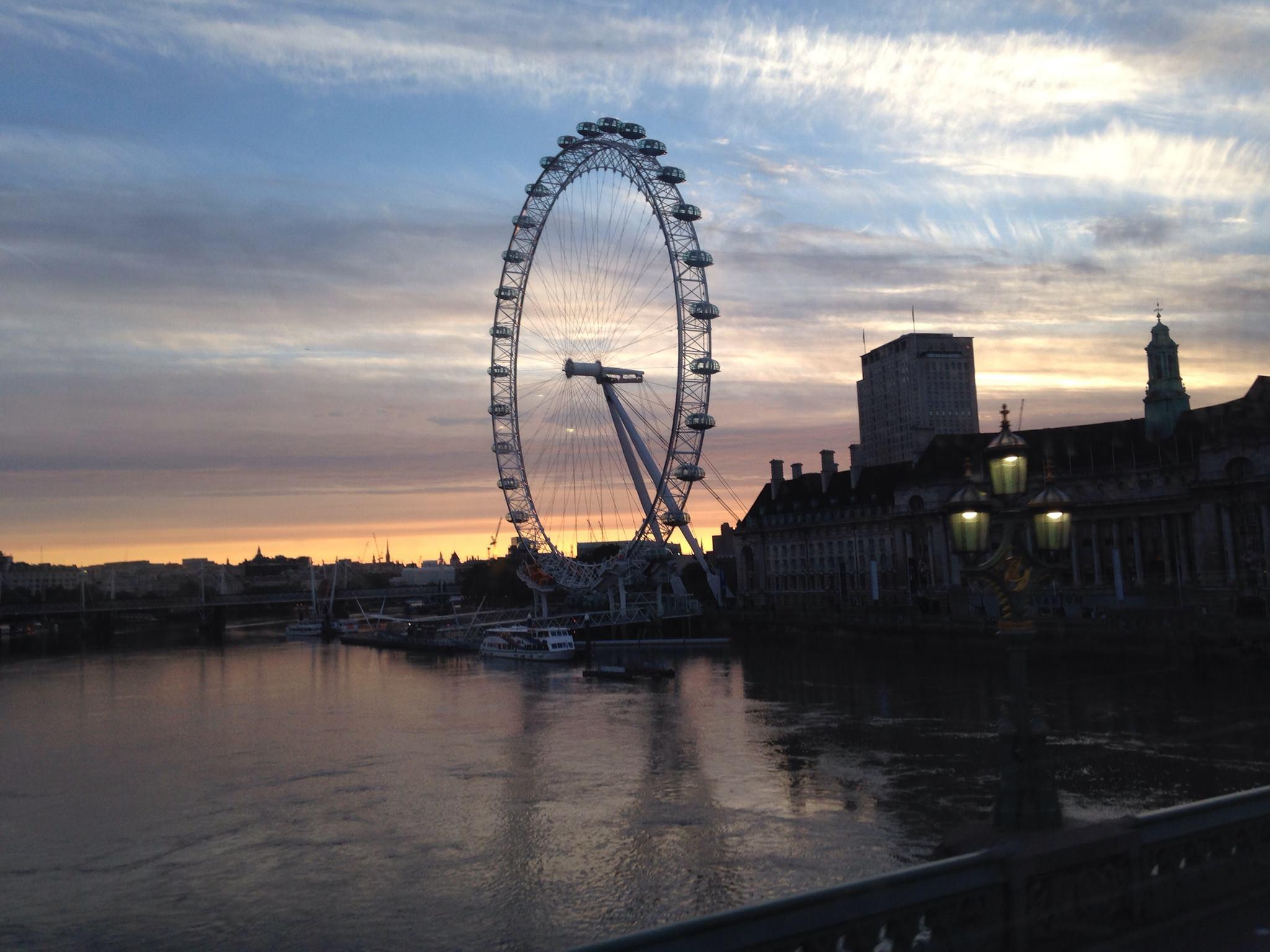 Londono apžvalgos ratas – įspūdinga konstrukcija