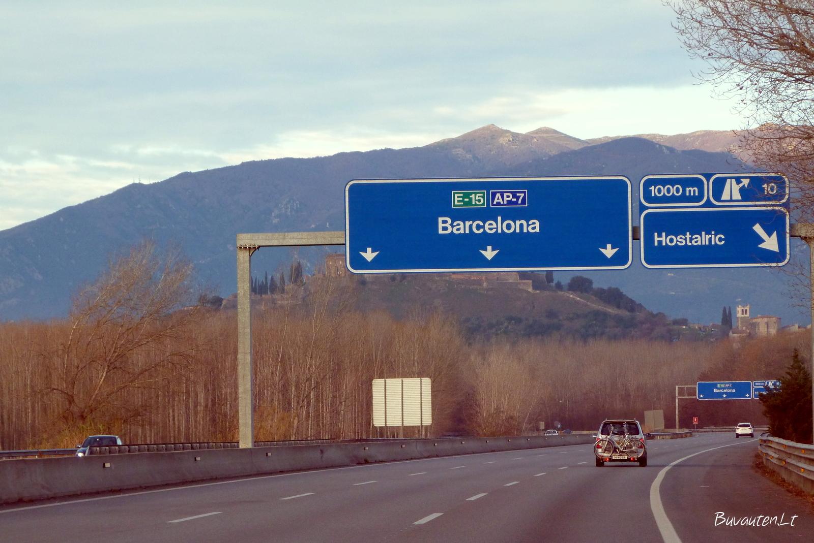 Pakeliui į Barseloną