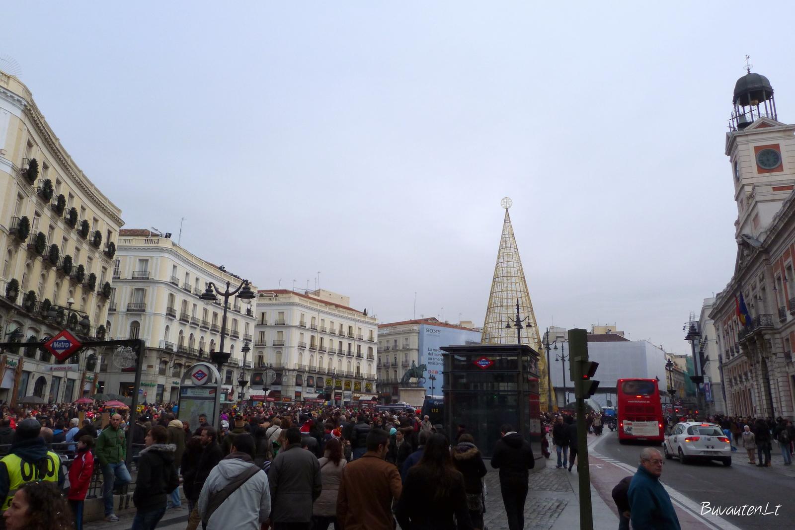 Naujieji metai Madride