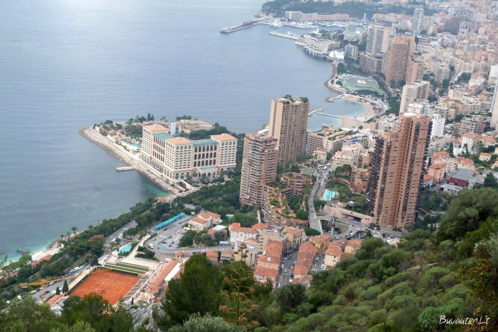 Monakas iš viršaus