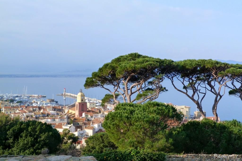 Sen Tropezo senamiestis ir pakrantė