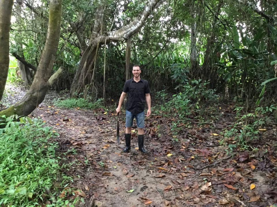 Edgaras džiunglėse