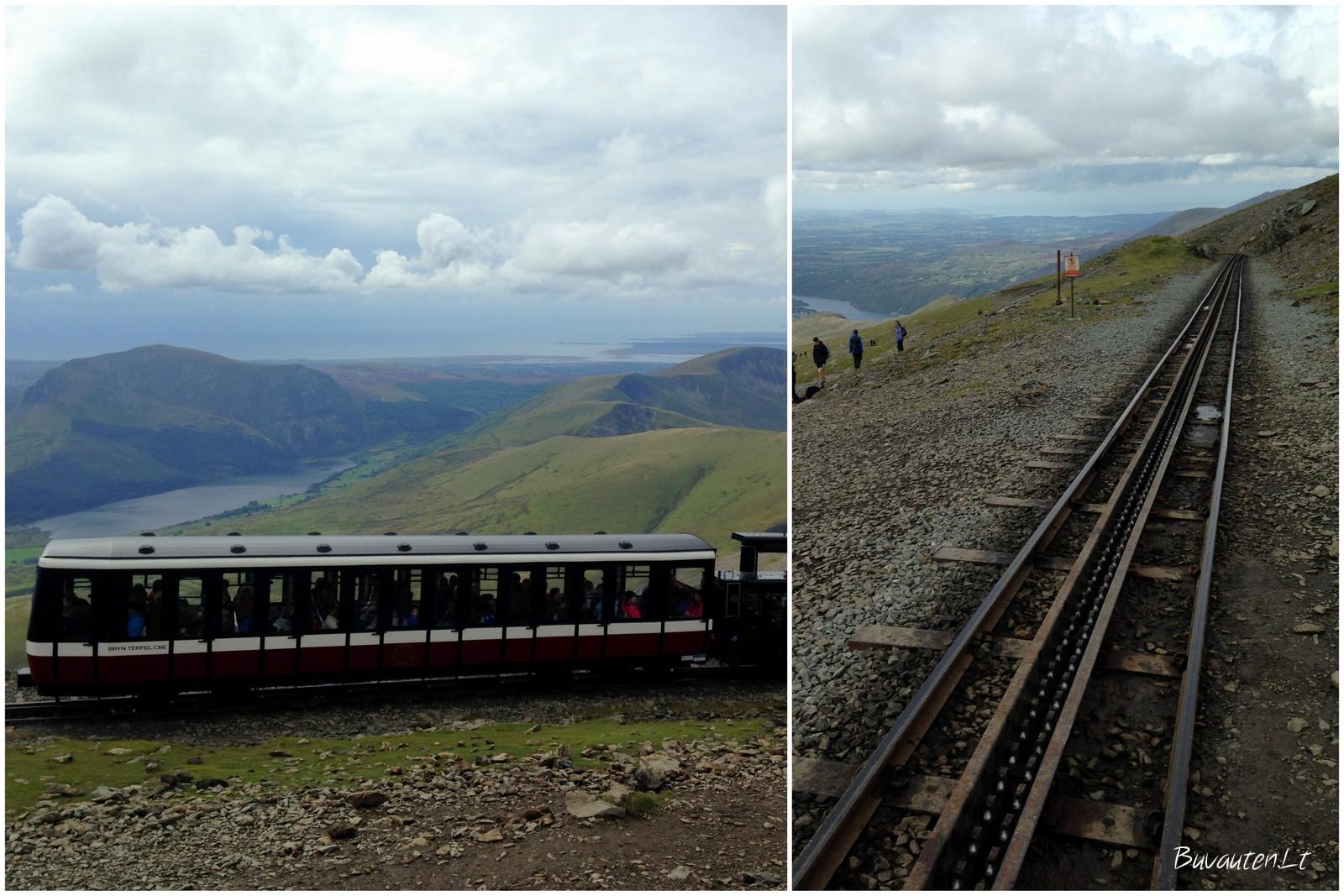 Snoudono viršūnę galima pasiekti ir traukiniu