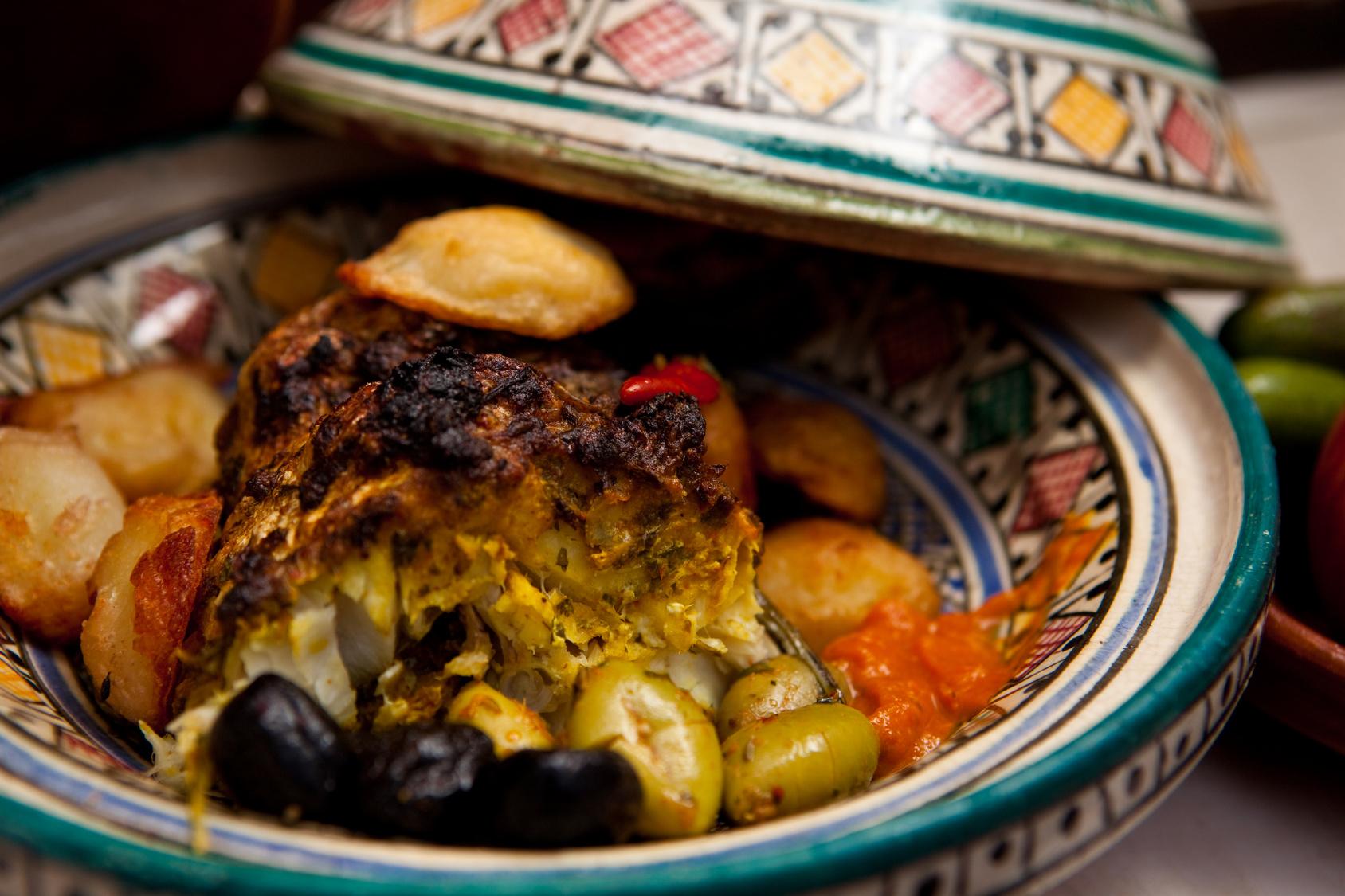 Maroko patiekalai