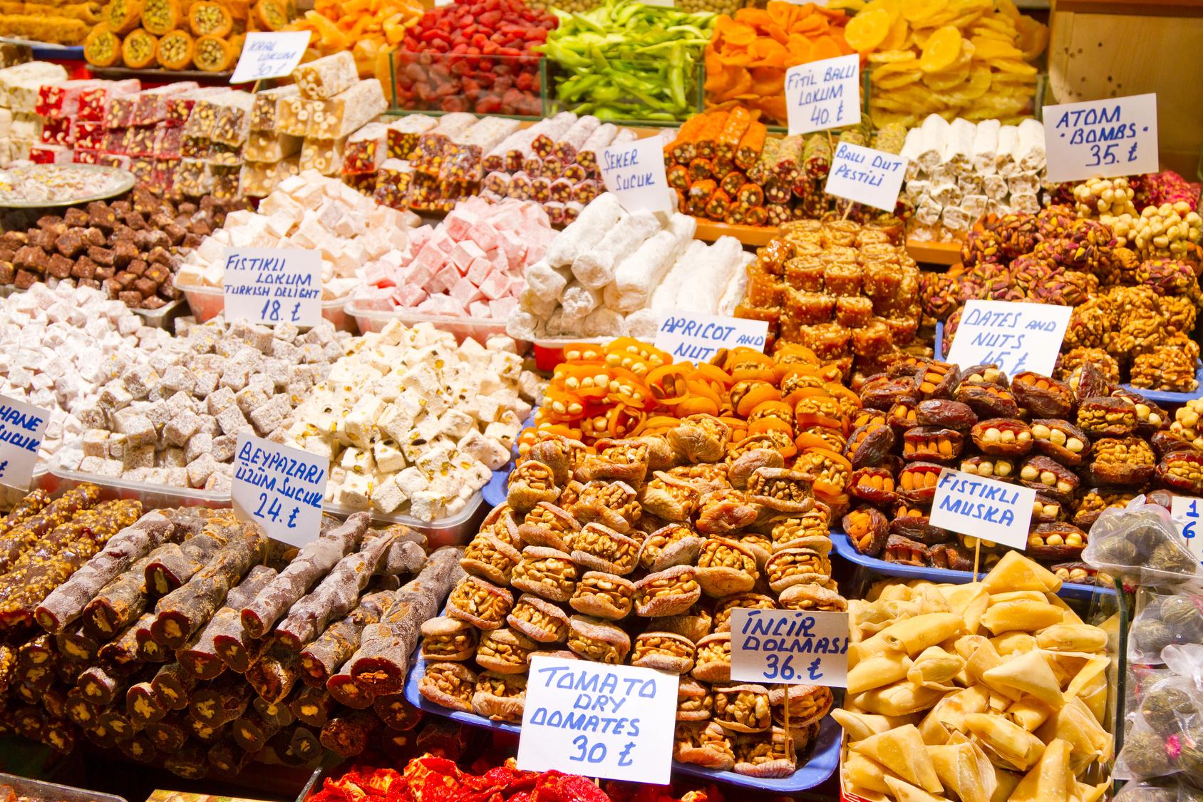 Turkiški saldumynai