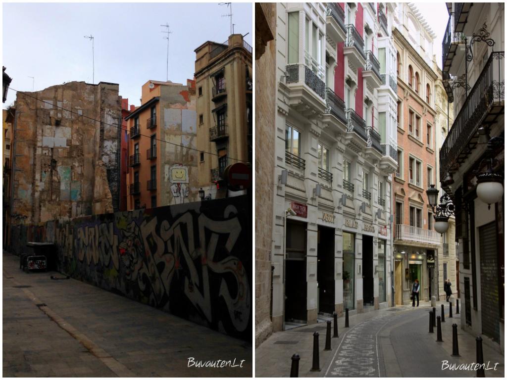 Valensijos kontrastai