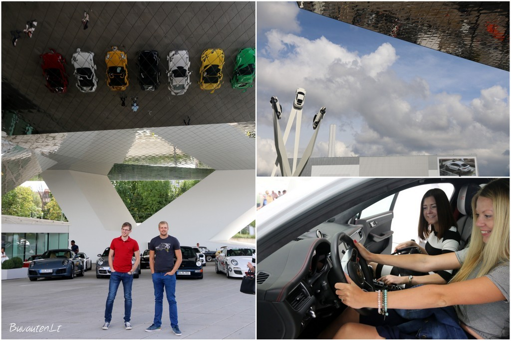 Porsche muziejus Štutgarte