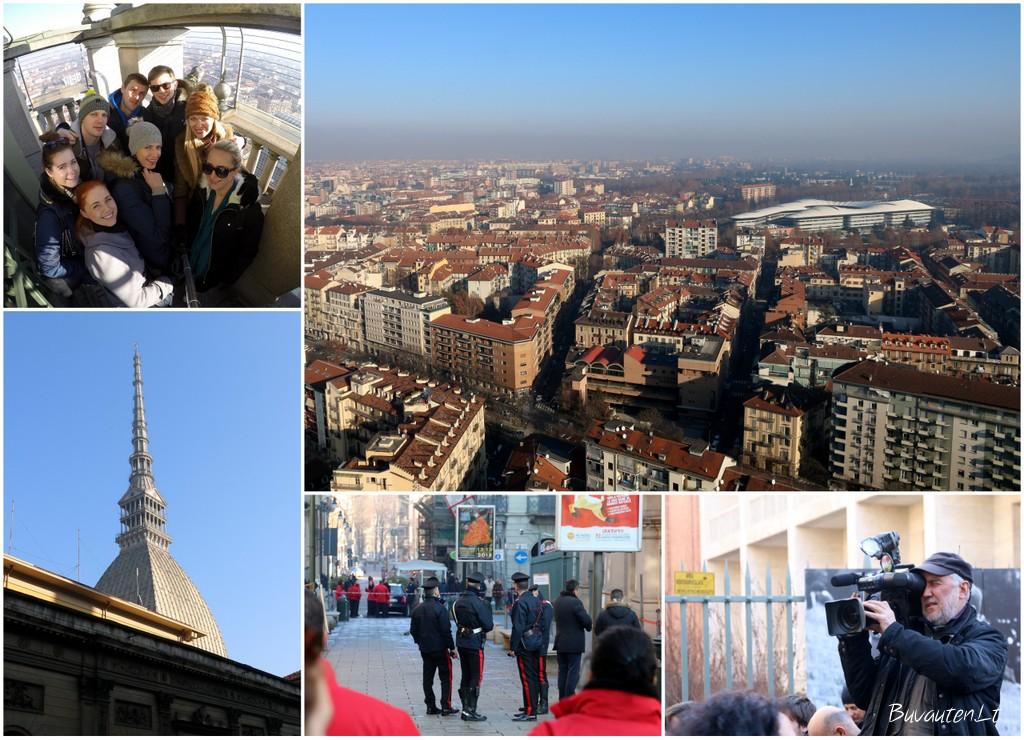 Apgaulingas pavojus Turino bokšte