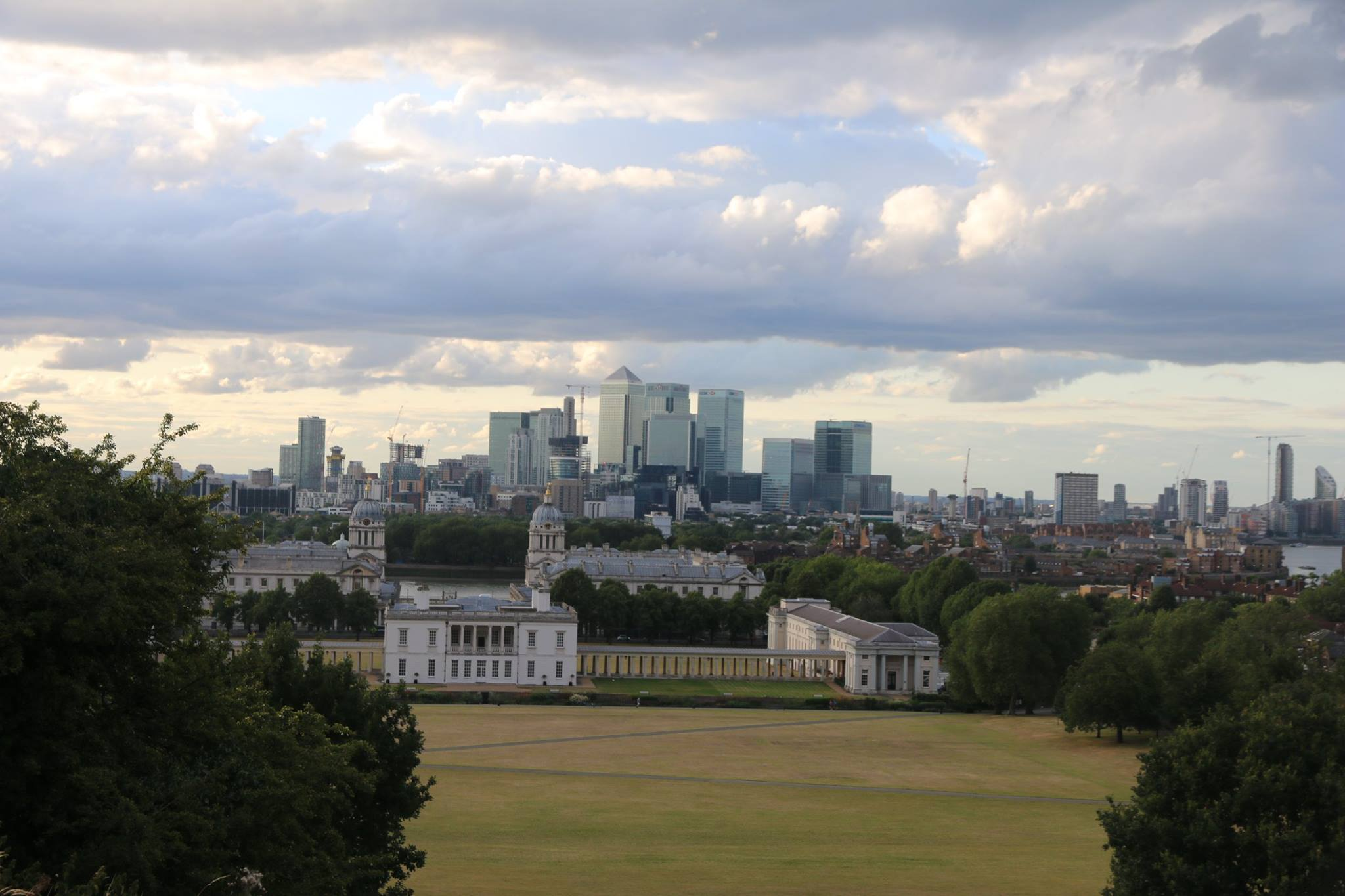 Vaizdas nuo Greenwich kalvos