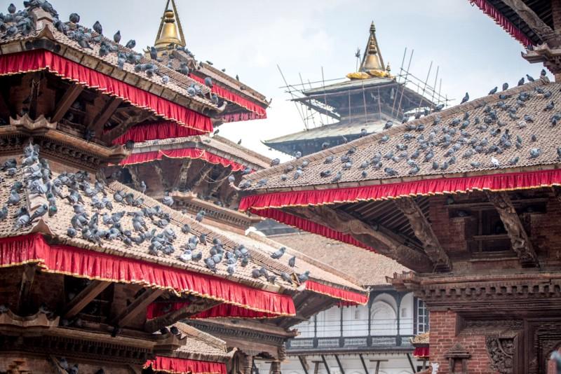 Katmandu Durbar aikštė