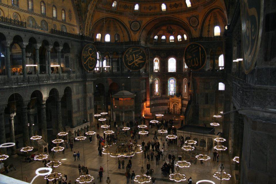Stambulo šventyklos - įspūdingos