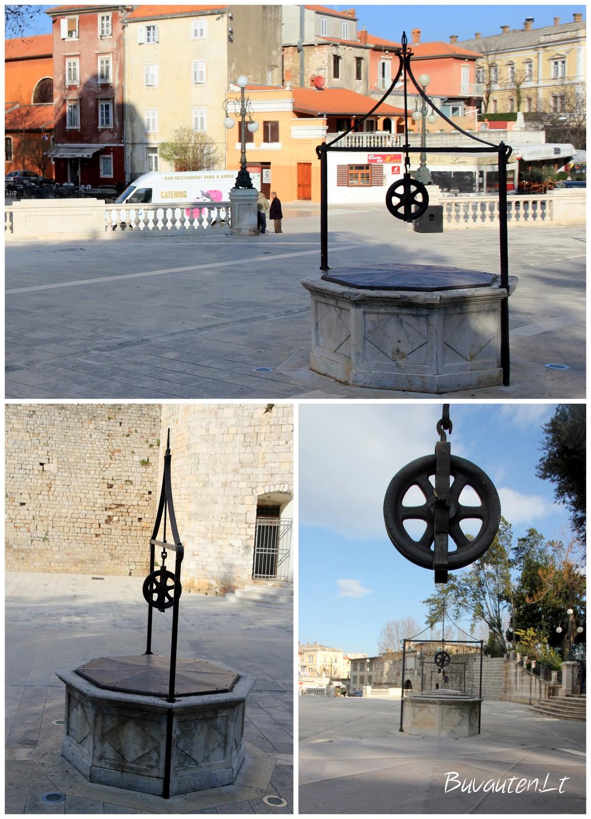 Penkių šuliniai Zadare stovi jau daugiau kaip 420 metų